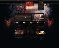 Lineage || Web Design - SOLD by Evil-S