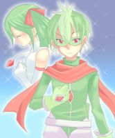 Gallade and Gardevoir