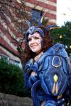 Akasha, Unreal Tournament 3 cosplay by cimmerianwillow