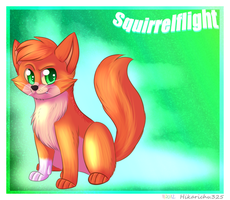 Squirrelflight by Porygoon