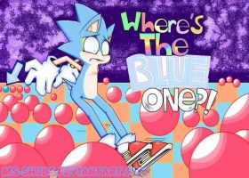 OLD ART: Where's the Blue One?? by Chromalav