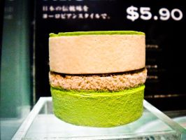 Green Tea Ice Cream Burger? by SmilesMemories