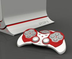 SonyPlayStation console B_dt by TesserarT