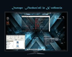 Isotope - Fluxbox(ed) in X by rvc-2011