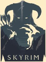 SKYRIM Poster by Ashrayment