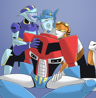 TFA - JettwinsxOptimus prize by Rosey-Raven