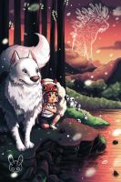 Princess Mononoke Tribute by jennduong