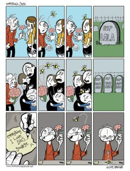 Love, Death and Bees by brien-likes-cartoons