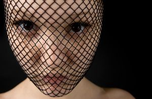 Fishnet Face by claudi-lee