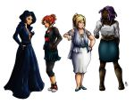 The Ladies by Cameil