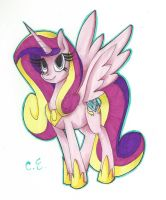 Princess cadence by DedPhantom