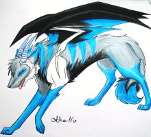 Art trade wolfdemongirl63 by shadows-of-hope