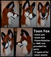 Updated fox for sale by Sharpe19