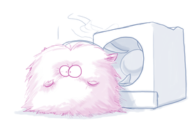 Dryer Bunni by Toughset