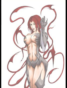 witchblade by kenofchaos