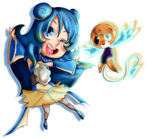 SS - Blue and Pixeled by GhostBulb