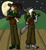 Duet of the Chroniclers by DaffydWagstaff