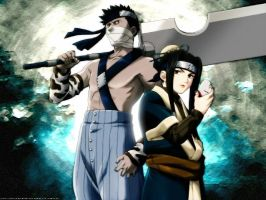 Zabuza and Haku-Mist Demons by HayateKun