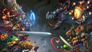 Battle Chasers Night War by NicChapuis