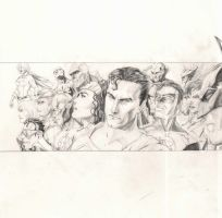 Justice League 'Widescreen' by EXTronic-AWilson