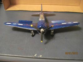 SBD Dauntless: Front View by cloudyrainbow561