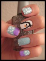 Penguin and Polka Dots by xstdx