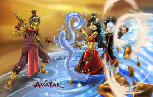 avatar the last air bender by zhane00