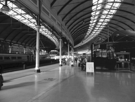 Newcastle Train Station by Princess-Amy