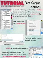 Tutorial para cargar actions by loveelydesigns