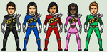 Power Rangers Dino Charge by Stuart1001