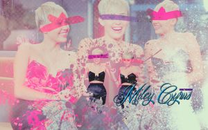 Wallpaper Miley Cyrus by Rositahoran