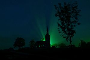 Scary church by TheJokerCZ