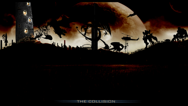 The Collision by MAND4Drawings