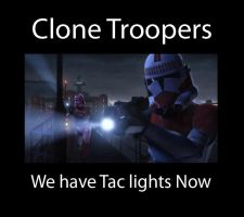 Troopers With Tac Lights by Ghost141