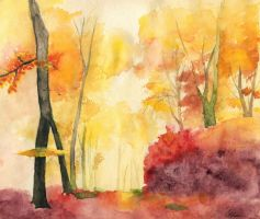 Autumn by Helesss