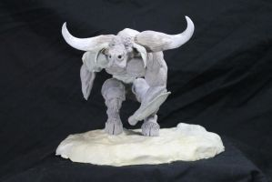 Bonner Minotaur getting there 1 by RavendarkCreations