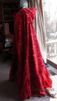 Red's Cloak, Ruffle Variation by Elenatintil