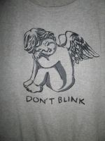 Don't blink ~ Weeping Angel T-Shirt by StarDapple
