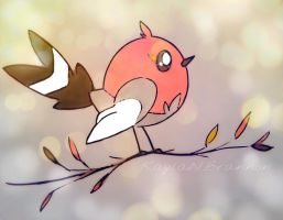 Fletchling by ApocalypseKitty