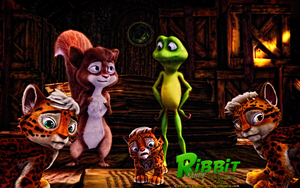 ANIM MOVIE: RIBBIT and SANDY (2) and CUBS by CSuk-1T