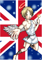 Hetalia- Britannian Angel by Hawaiian-Brit