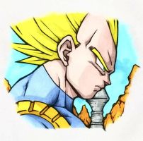 Super Saiyan Vegeta by ssjgogeto