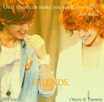Friends - OnTae by Koeno77Shiro