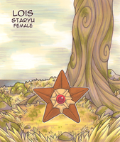 Lois the Staryu by Yakalentos