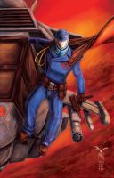 Cobra Commander by artrobot9000