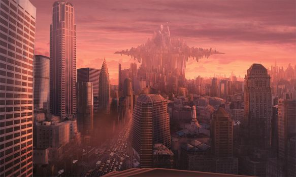 Cityscape by PlasmaX7