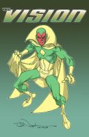 Avengers: The Vision by ToddNauck