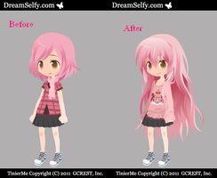 Yumi l Before and After l by Piyokko