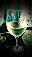 Cheers - Drinking .... A good wine !! by Albatros5