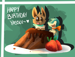 Happy Birthday Yassui! by phlavours